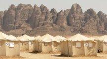 stovykla Jordanijoje