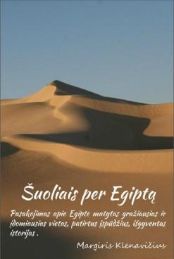 Šuoliais per Egiptą viršelis