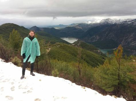 Žaliasis kanjonas ir sniegas