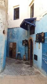 Essouira gatvelė. Kristinos Sinkevičiūtės nuotrauka