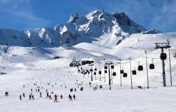 Slidinėjimas Turkijoje kalnas