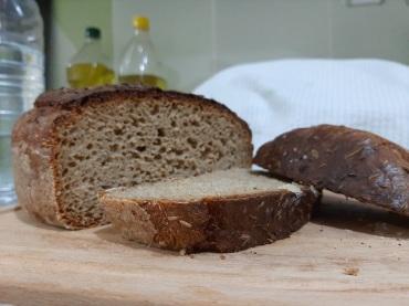 Prapjauta juoda duona