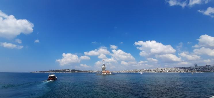 Mergelės bokštas Stambule
