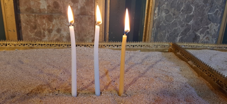 Žvakės bažnyčioje